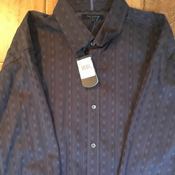 423e29600963 NWT Ted Baker London Men s Dress Shirt